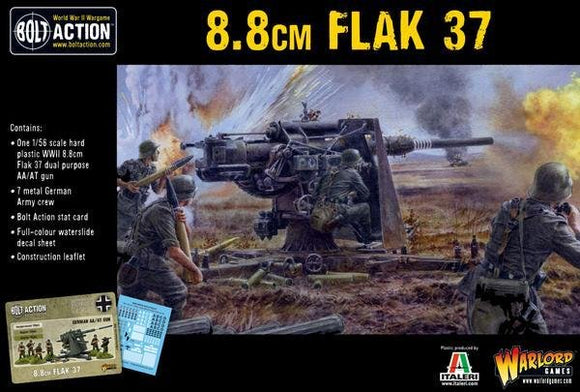 Discount Warlord Games Bolt Action 8.8cm Flak 37 - West Coast Games