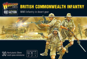 Discount Warlord Games Bolt Action British Commonwealth Infantry - West Coast Games