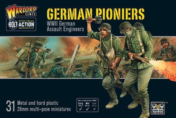 Discount Warlord Games Bolt Action German Pioneers - West Coast Games