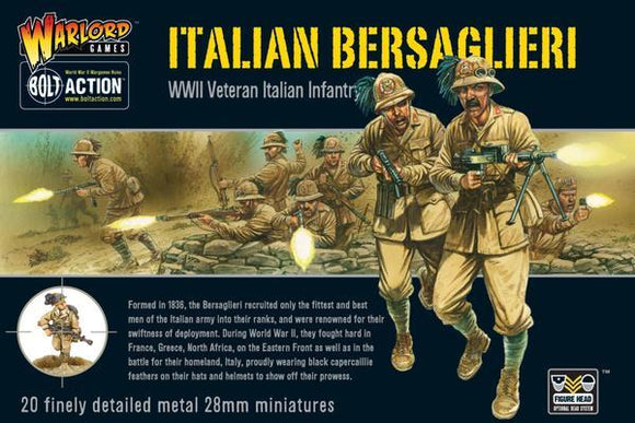 Discount Warlord Games Bolt Action Italian Bersaglieri - West Coast Games