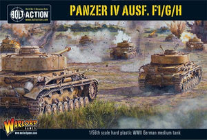 Discount Warlord Games Bolt Action Panzer IV Ausf. F1/G/H - West Coast Games