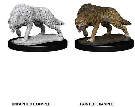 Discount WizKids Deep Cuts Miniatures Timber Wolves - West Coast Games