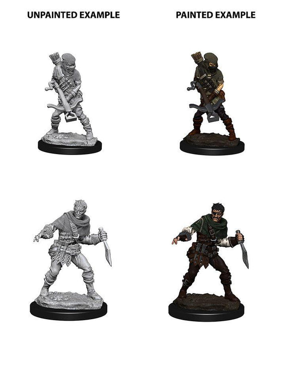 Discount WizKids Deep Cuts Unpainted Miniatures Bandits - West Coast Games