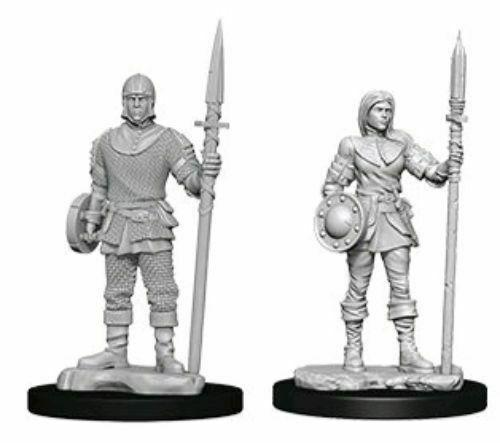 Discount WizKids Deep Cuts Unpainted Miniatures Guards - West Coast Games