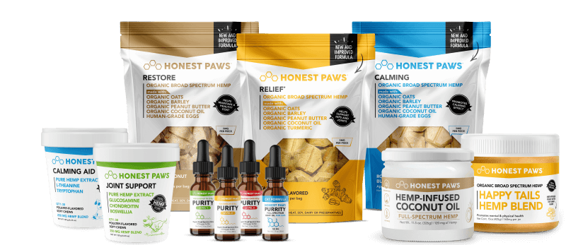 Delicious, <i>Mouth-Watering,</i><br>Hemp  Oils & Treats <br> That Your Dog or Cat Is <br><span>Guaranteed To Love!</span>