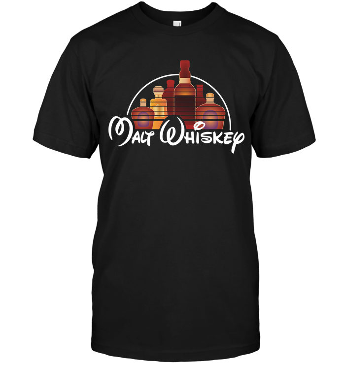 Malt Whiskey Funny T-shirt