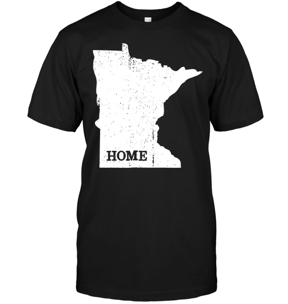 Minnesota State Map Outline T-shirt