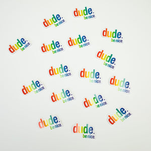 Sticker 10 Pack (Rainbow)