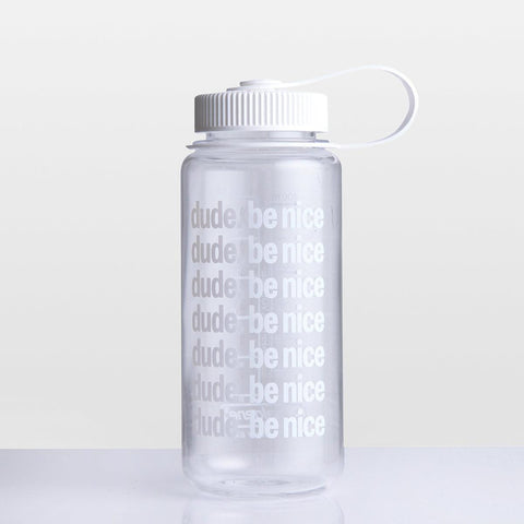 16 OZ Wide Mouth Water Bottle (White Top)