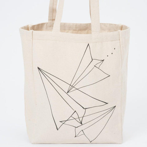 Paper Airplane Tote