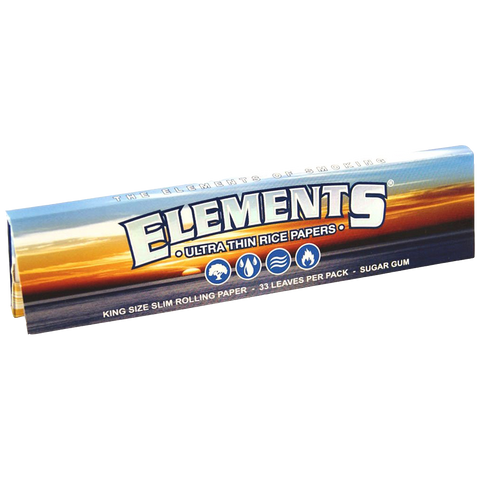 Elements Ultra Thin King Size Rice Rolling Paper