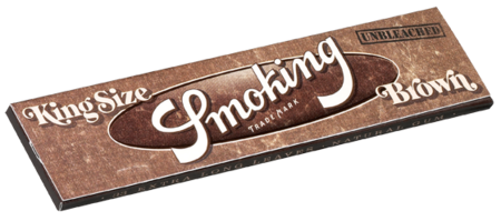 Smoking Brown Unbleached King Size Rolling Paper