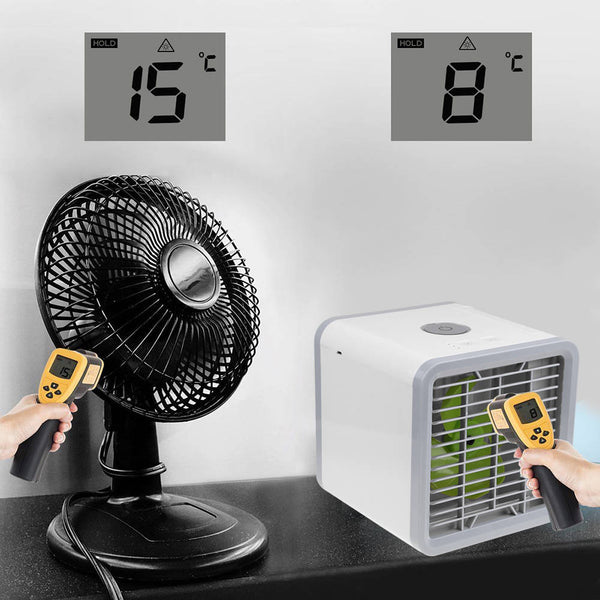 Arctic Air Conditioner Portable Fan Personal Mini Air Cooler/Humidifier/Cleaner