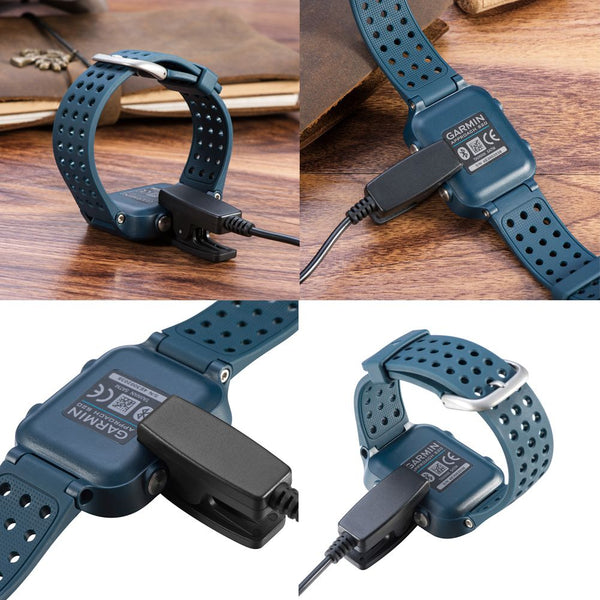 USB Clip Charger Data Charging Cable For Garmin Forerunner 735XT 235 230 630