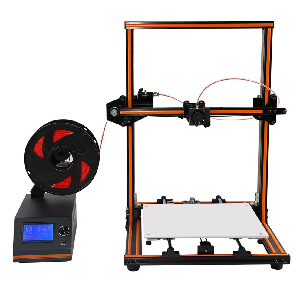 Aluminum 3D Printer Kit E12 Large Print Size 300x300x400mm Filament Monitor Upgrade