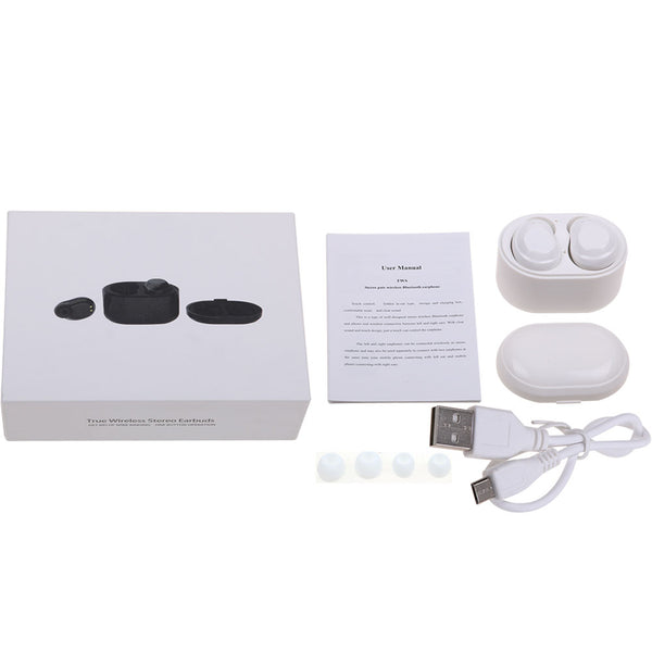 X6 TWS Earbuds Mini Bluetooth Touch Earphones With Charging Case True