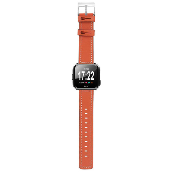 For Fitbit Versa Replacement Quick-Release Leather Strap Sport Watch Wrist Band