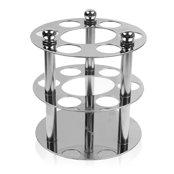 6 Hole Stainless Steel Toothbrush Holder Storage Wall Mounted Bathroom Supplies