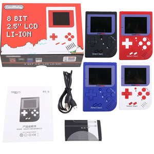 Retro Mini 2 Handheld Game Console Built-in 129 Video Games Player Gift Coolbaby