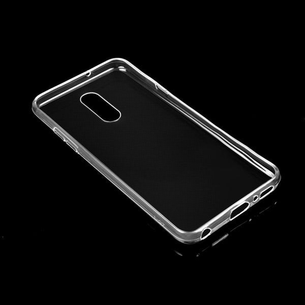 For LG Q7 Soft Silicone Transparent Shockproof  TPU Cover Protective Case Skin