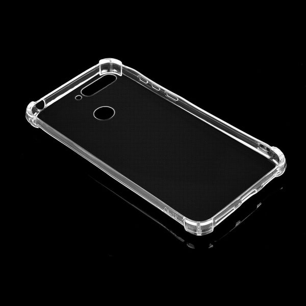 For Huawei Play 7A/Y6(2018) Soft Silicone Transparent Shockproof  TPU Cover Case