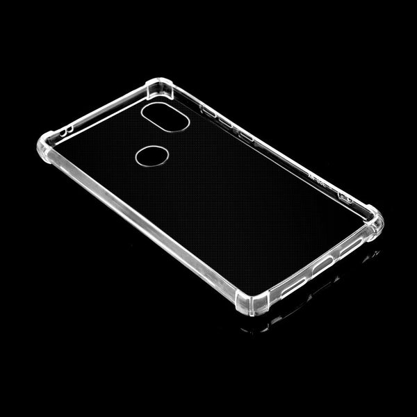 For Xiaomi 8 SE  Silicone Transparent Shockproof  TPU Cover Protective Case Skin