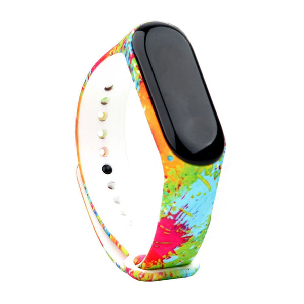 Replacement Silicone Wrist Strap Armband Bracelet for Xiaomi Miband MI Band 3