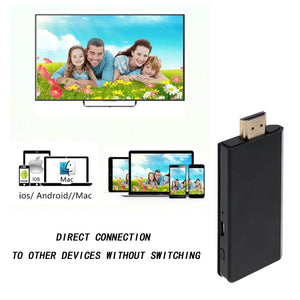 Wireless Airplay Phone Screen to HDMI TV Dongle 1080P Adapter Mirror Display