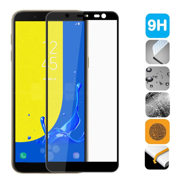 4D Curved Full Cover Screen Protector Tempered Glass  for Samsung Galaxy J6 2018