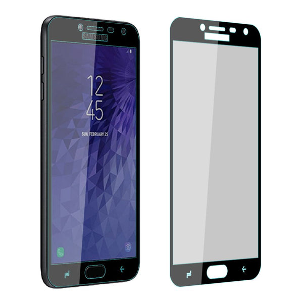 4D Curved Full Cover Screen Protector Tempered Glass  for Samsung Galaxy J4 2018