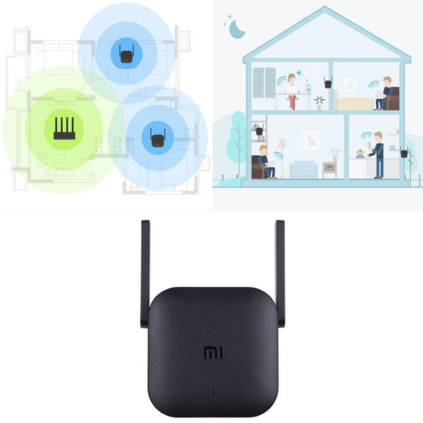 Xiaomi MI Pro 300Mbps Wifi Amplifier Wireless Wifi Signal Extender Repeater