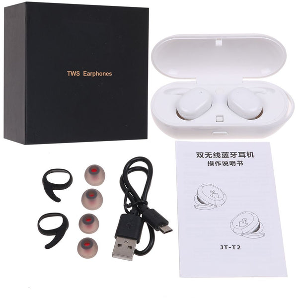 X18 TWS Wireless Bluetooth 4.2 Earbuds Headset In-Earphone Stereo Headphone New