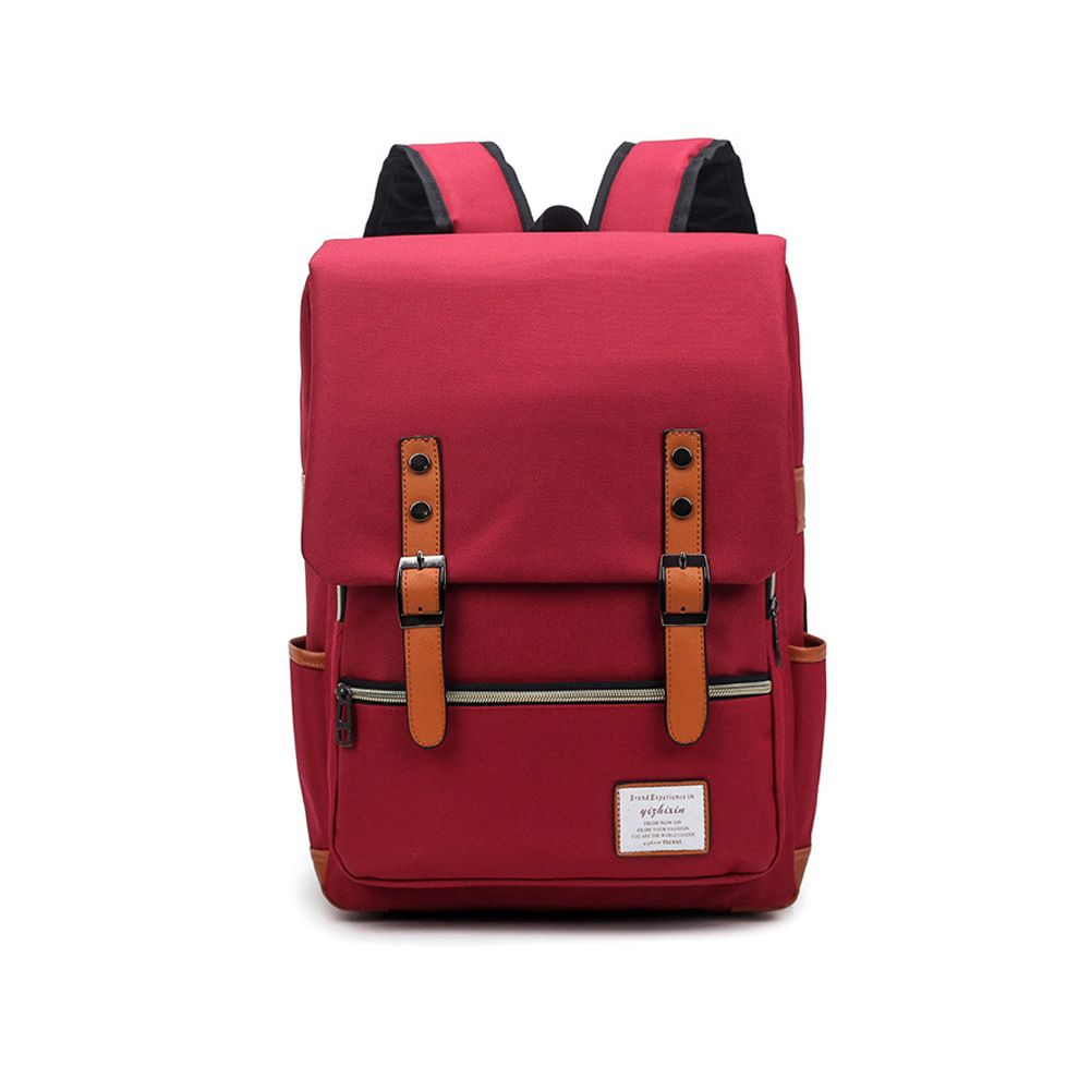 Men Women Shoulder Canvas Backpack Rucksack School Travel Laptop College Bag