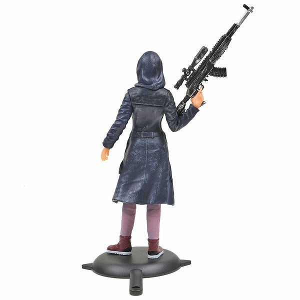 PUBG Playerunknown''s Battlegrounds Game Girl PVC Action Figure 17cm