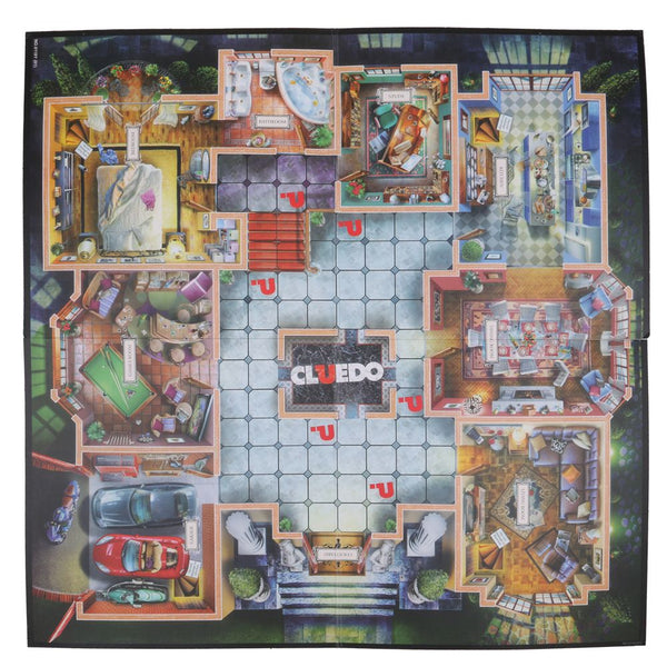 Large Version Cluedo Clue Family Brain Board Party Classic Mystery Game