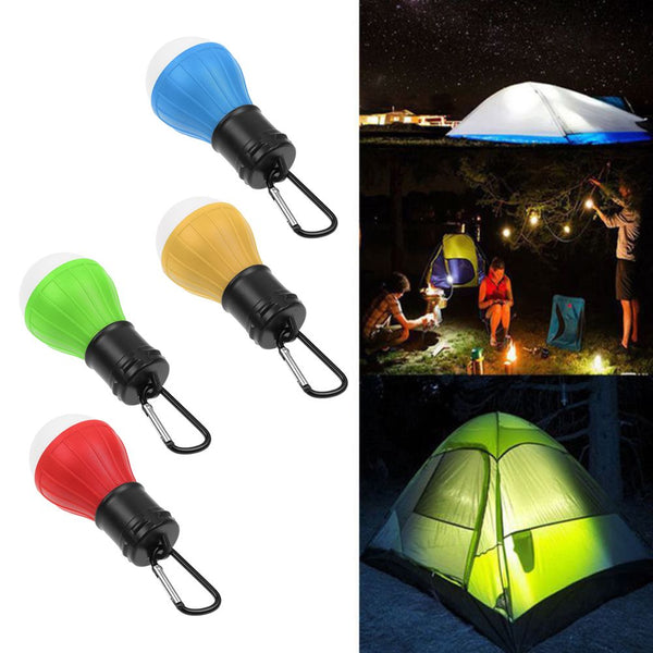 Portable 3 LED Outdoor Camping Battery Operated Lantern Tent Lamp Night Light