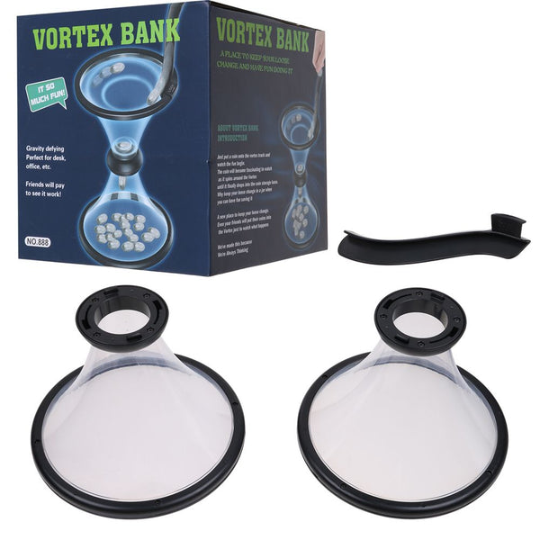 Pressure Relieving Vortex Bank Watch Money Defy Gravity Circling Around