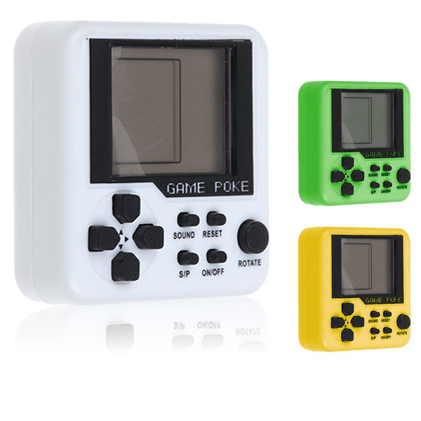 Pocket Mini Matchbox Tetris Kid Game Players Boy Console LCD Educational Toy New