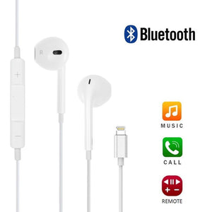 Apple Compatible Lightning Headphones for iPhone X, 8, 7, 8 Plus, 7 Plus with Mic