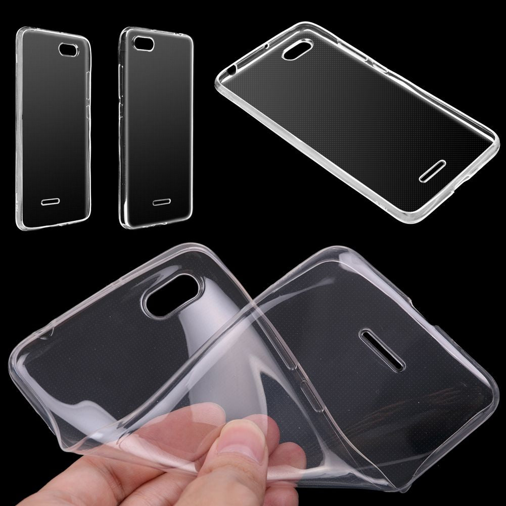Ultra Thin Gel Rubber TPU Soft Case Cover Protective For Xiaomi Redmi 6A