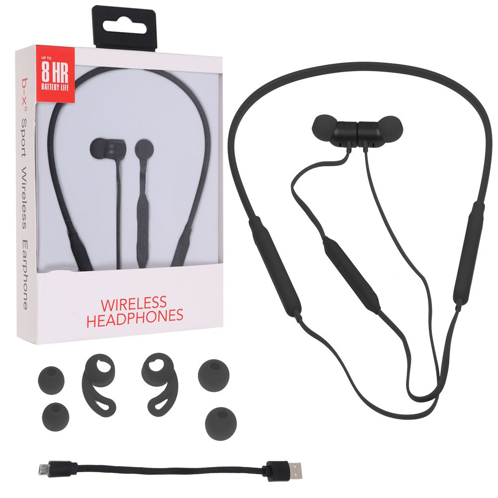 B-X6 Sports Wireless Bluetooth 4.2 Headset CSR Neckband Style Earphones