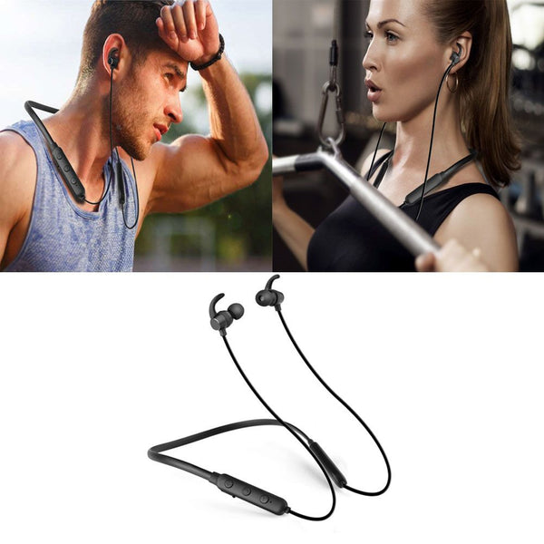 Bluetooth V4.1 Headset Sport Stereo Wireless Magnetic Headphone Earphone