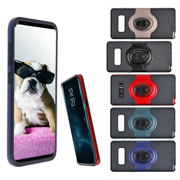 Ring Holder Shockproof Armor TPU Case Cover For Samsung Galaxy Note 8