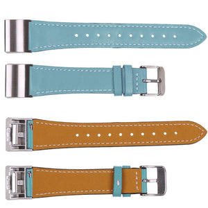 Replacement Genuine Leather Strap Sport Watch Wrist Band For Fitbit Charge 2
