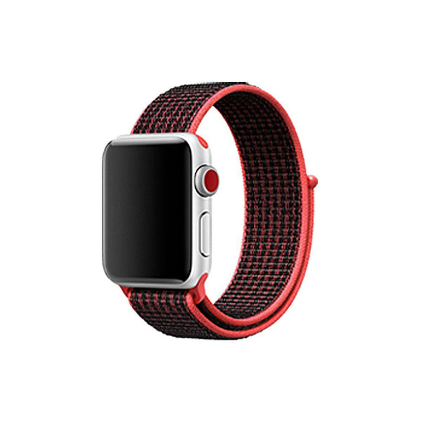 Woven Nylon Sport Loop Band Strap Bracelet For iWatch Apple Watch Series 3/2/1