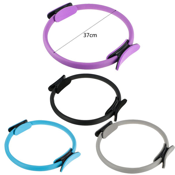 Pilates Ring Dual Fitness Weight Exercise Yoga Circle Full Body Trainer Tool