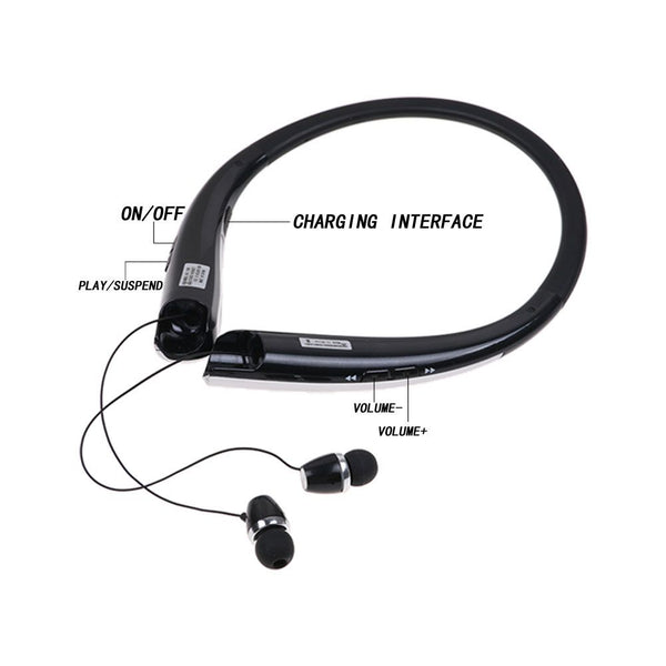 HBS-1100 Bluetooth Headset Wireless Stereo Bluetooth Earphone