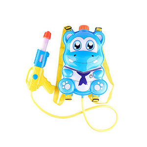 Kids Back Pack Blaster Tank Air Pressure Water Shooter