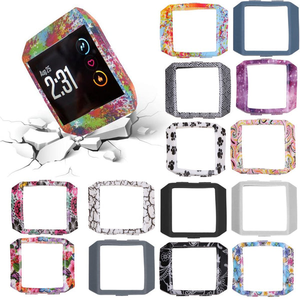 Protective Case Frame Bumper Sleeve Case Skin For Fitbit Ionic Smart Watch