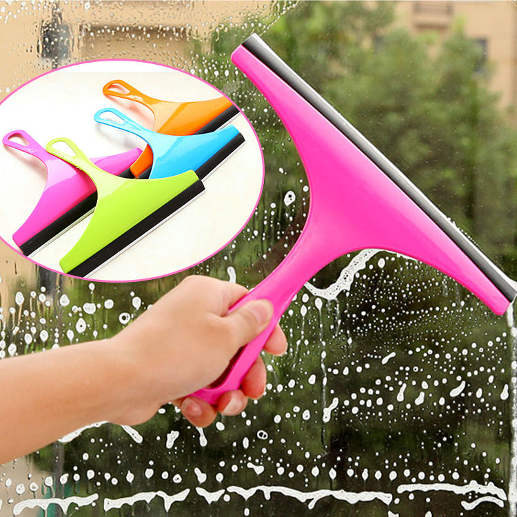 3 Pcs Handheld Glass Window Cleaner Squeegee Shower Wiper
